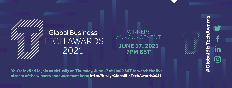 Global Business Tech Awards 2021 Event Ticket